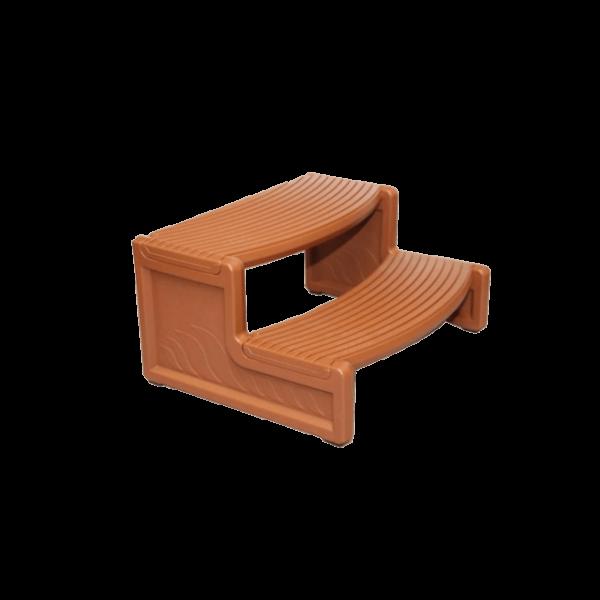 Bruine jacuzzi trap