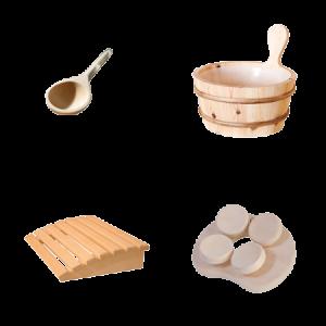 Sauna attributen
